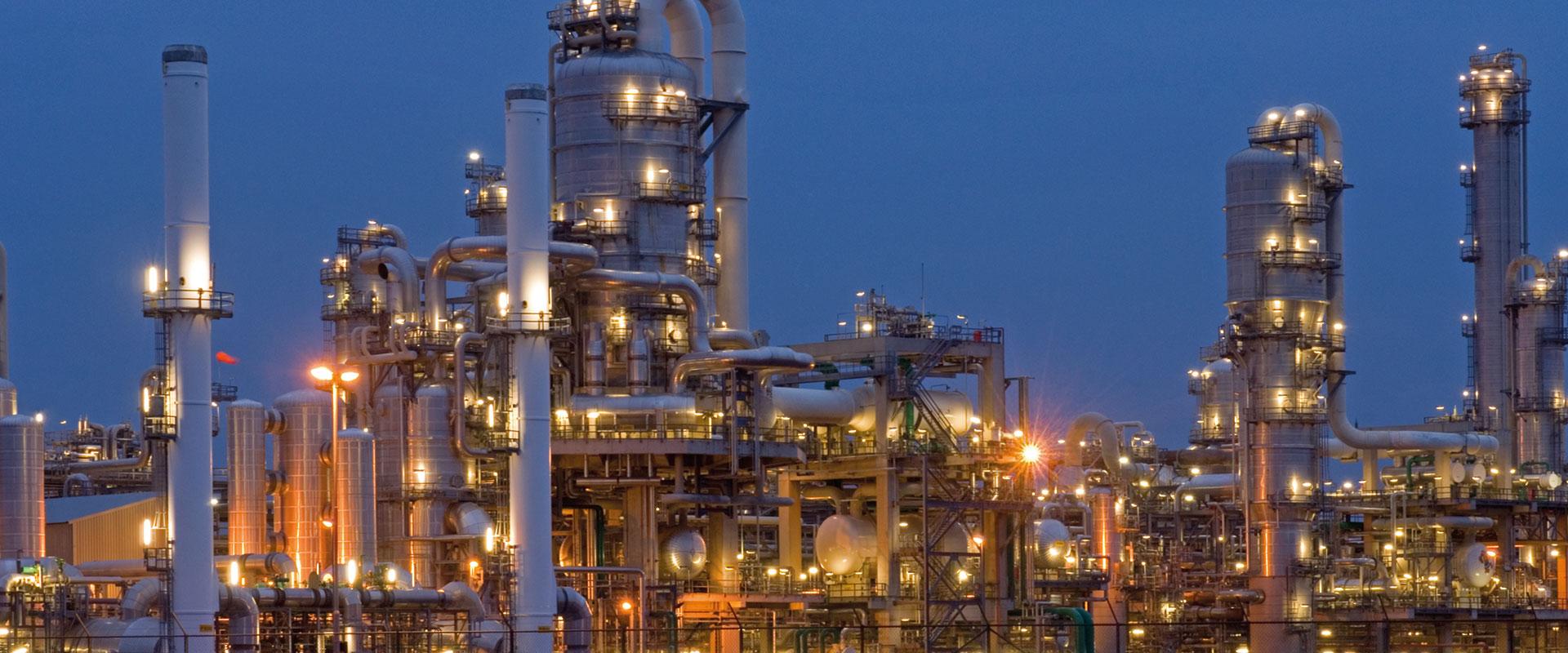 Открытка химического предприятия