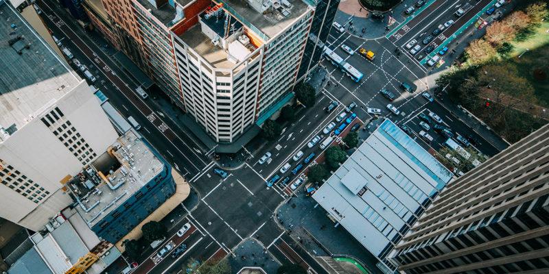 Ciudad con soluciones tecnológicas innovadoras