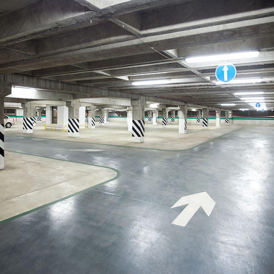Instalación punto de recarga en garage de la administración pública